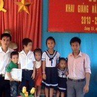 Khai giảng năm học mới ở Trường Sa