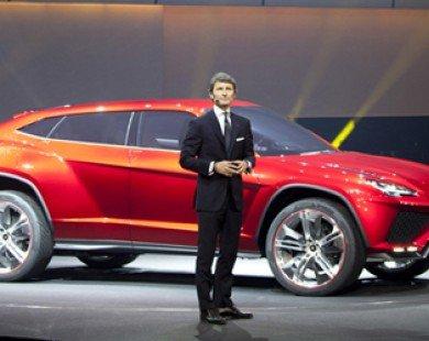 "Lamborghini concept 2013 Urus khi "" bò chiến"" thích off-road"