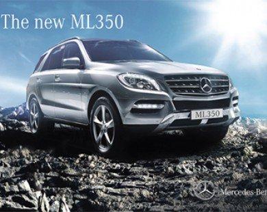 Mercedes-Benz ML350 4Matic 2012 chúa tể đường phố