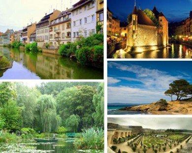 Những địa danh đẹp nhất nước Pháp