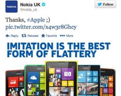 Nokia và các đối thủ đồng loạt 'đá xoáy' iPhone mới