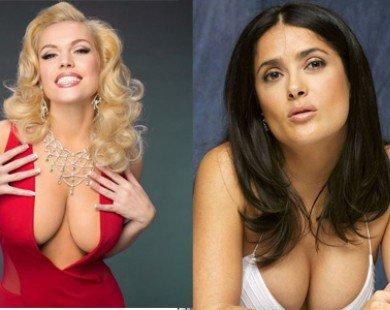 10 bộ ngực thẩm mỹ 'khủng' ở Hollywood