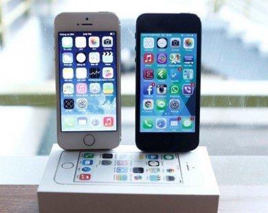 iPhone 5S đọ dáng iPhone 5 tại Việt Nam