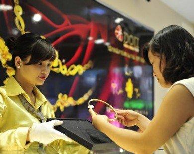 Giá bán vàng vượt 37,6 triệu đồng