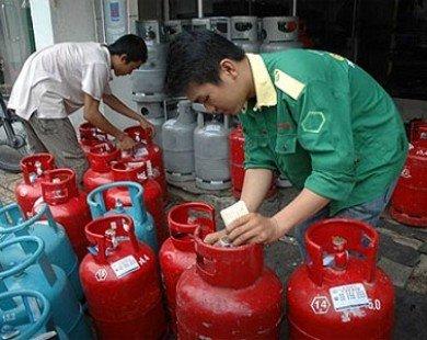 Giá gas giảm 8.000 đồng/bình 12kg trong tháng 10