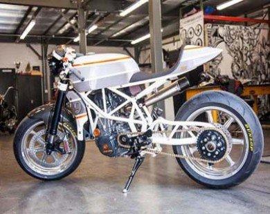 KTM 690 Enduro R độ phong cách cafe racer