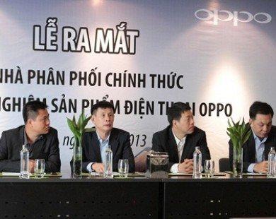 Viettel sẽ phân phối điện thoại Oppo trên toàn quốc