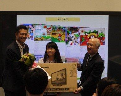 Trao giải cuộc thi Panasonic Nhật ký Xanh