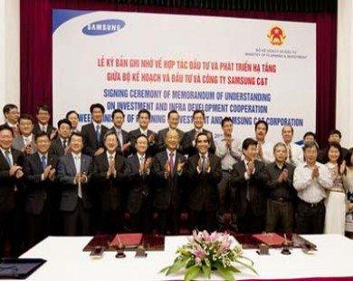 Samsung sẽ tham gia xây sân bay tại Việt Nam