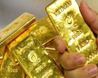 Giá vàng giảm gần nửa triệu đồng