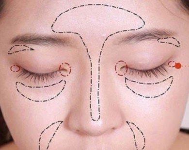 Mẹo tạo khối che khuyết điểm gương mặt