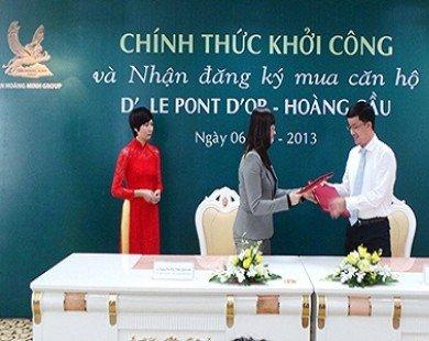 """Khởi công D'. Le Pont D'or, Tân Hoàng Minh kiên trì với sản phẩm căn hộ """"5 sao"""""""