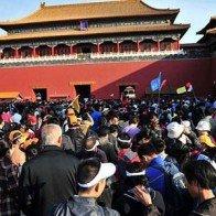 """Nghẹt thở trước hình ảnh """"tuần lễ vàng"""" du lịch ở Trung Quốc"""