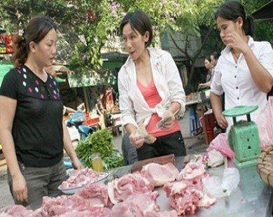 Nhận diện thịt lợn, bò bị bơm nước