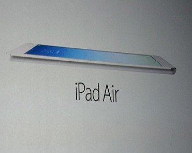 Apple giới thiệu iPad Air - tablet nhẹ nhất thế giới