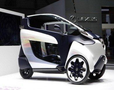 Toyota sẽ sản xuất xe máy lai i-Road