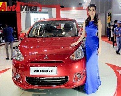Mitsubishi Mirage giá từ 440 triệu