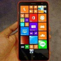 Lumia 1320: 'Người khổng lồ' màu sắc