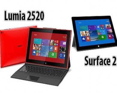 Máy tính bảng Nokia Lumia 2520 'đấu' Microsoft Surface 2