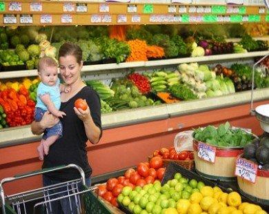 8 vị trí và vật dụng bẩn nhất trong siêu thị