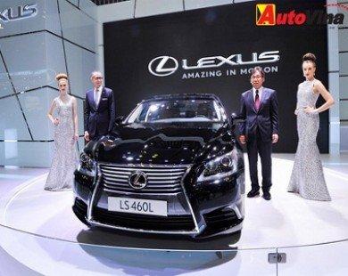 Bộ ba sedan Lexus: LS, ES và GS