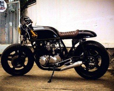 """Vẻ đẹp Honda CB750 """"cafe đen đậm đặc"""""""