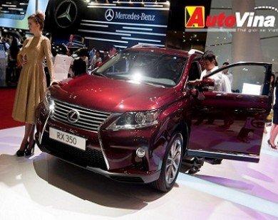 Lexus RX350 thu hút khách hàng Việt