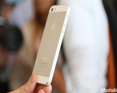 iPhone 5s bán được gấp 3 lần iPhone 5c
