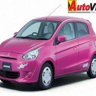 "Mitsubishi Mirage ""Hello Kitty"" ra mắt tại Nhật"