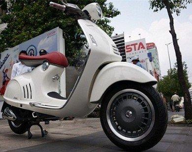 Vespa 946 chính hãng giá 380 triệu đến tay người dùng Việt