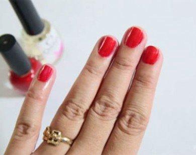 Cách sơn móng tay đẹp -chuẩn trong 20 phút