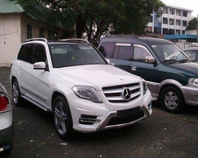 Mercedes GLK250 bất ngờ xuất hiện ở Sài Gòn