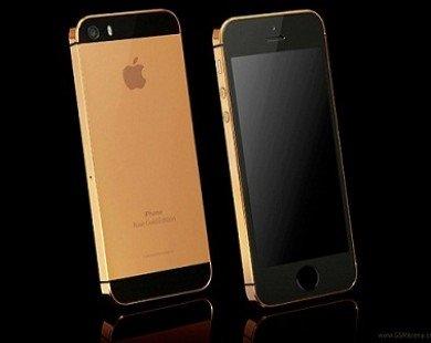 Thể hiện đẳng cấp với iPhone 5S mạ vàng