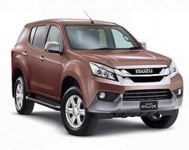 Isuzu MU-X: SUV 7 chỗ hoàn toàn mới