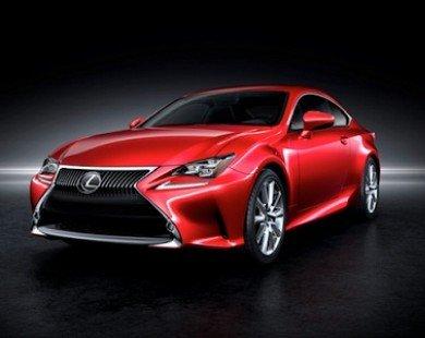 Lexus giới thiệu RC Coupe hoàn toàn mới