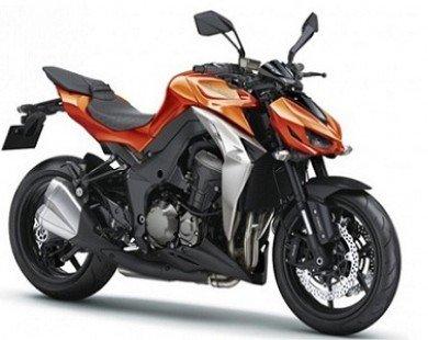 Kawasaki Z1000 2014 có giá hơn 240 triệu