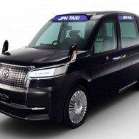 Xem trước xe Taxi tương lai ở Nhật Bản