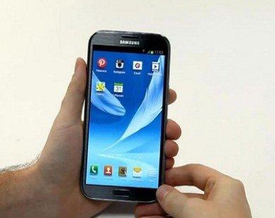 """Samsung có kế hoạch ra smartphone màn hình """"khủng"""""""