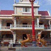 Đưa vào sử dụng trường Sơ cấp Pali Nam bộ chùa Sro Lôn