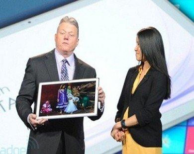 Hãng Panasonic chuẩn bị ra mẫu tablet