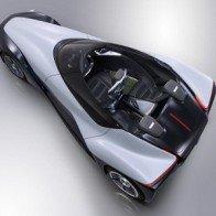Thiết kế mới cho xe Nissan BladeGlider