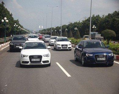25 xe Audi offline hoành tráng ở Vũng Tàu