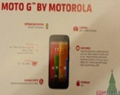 Amazon Anh bán Moto G giá 5,4 triệu đồng