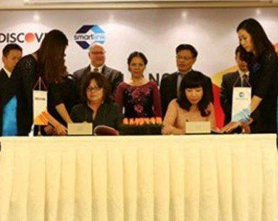 Discover liên kết mở rộng mạng lưới thẻ tại Việt Nam