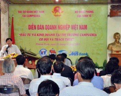 Giúp doanh nghiệp Việt tìm cơ hội đầu tư ở Campuchia