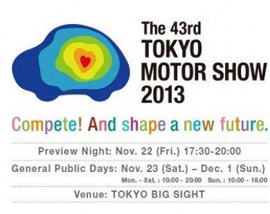 Tokyo Motor Show 2013 chính thức mở màn