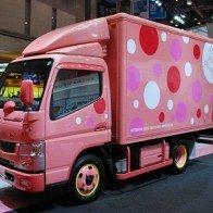 Tokyo Motor Show 2013 : Mitsubishi Fuso - Sắc môi em hồng