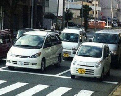 Xe 'siêu nhỏ' tràn ngập đường phố Nhật Bản