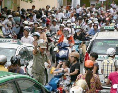 Hà Nội lên dự thảo hạn chế phương tiện giao thông cá nhân