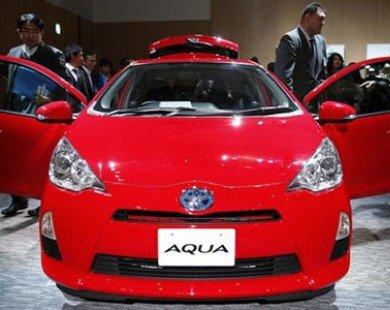 Toyota Aqua vượt Honda Fit về mức độ tiết kiệm nhiên liệu